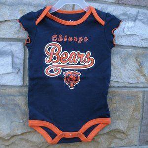 Chicago Bears Football Girls One Piece NFL
